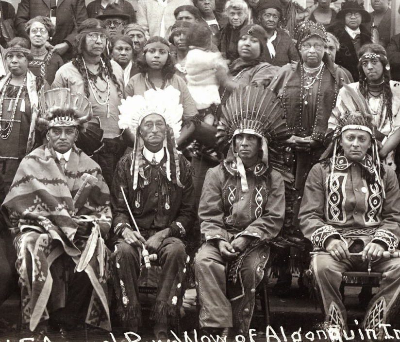 narragansett4_N. E. Annual Pow-Wow of Algonquin Indians. Providence, R.I. October 14, 1925.